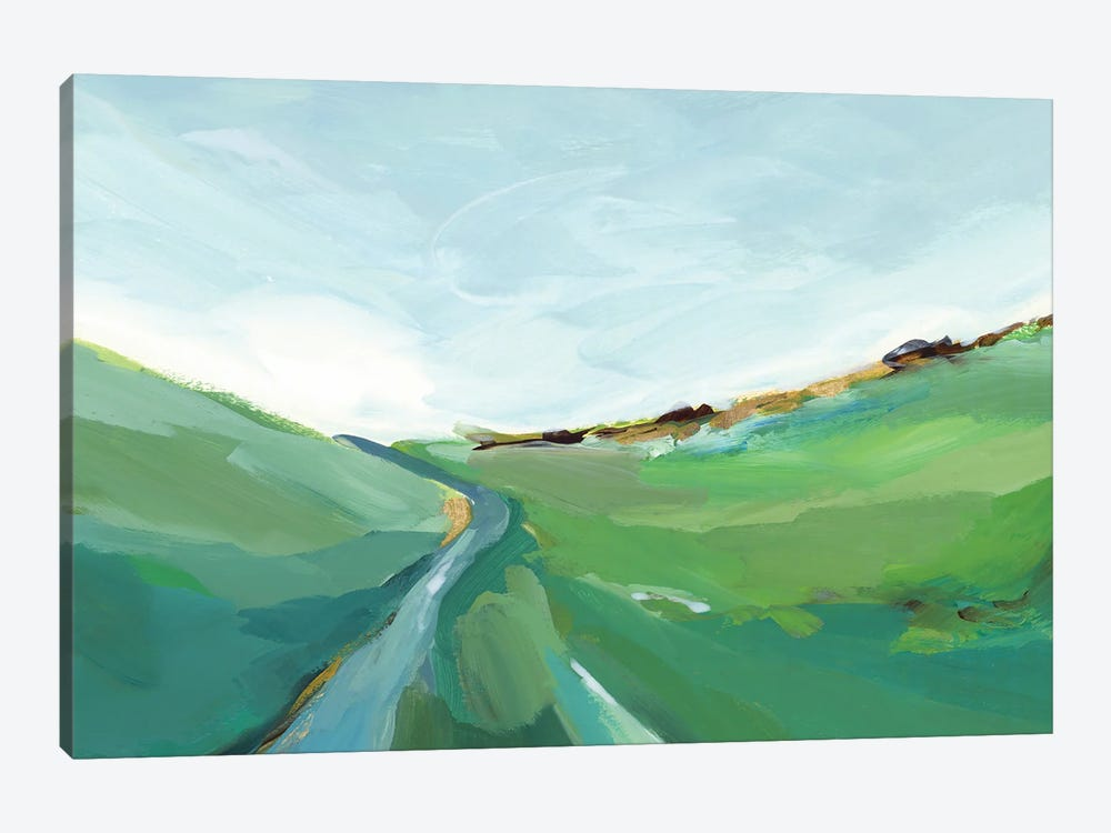 Emerald Hills by Isabelle Z 1-piece Canvas Art