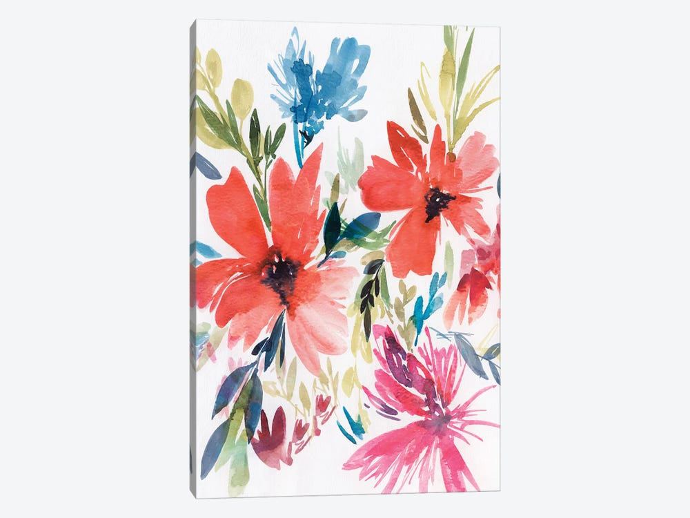 Flower Explosion II by Isabelle Z 1-piece Canvas Art Print