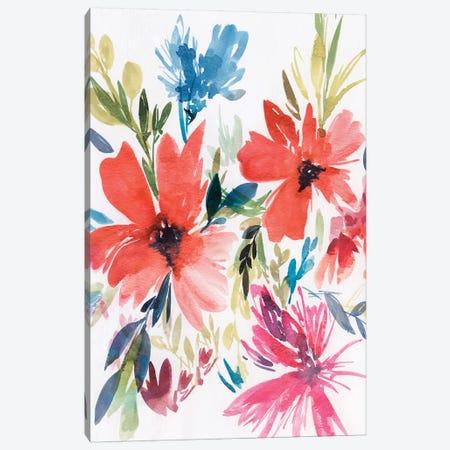Flower Explosion II Canvas Print #ZEE45} by Isabelle Z Canvas Artwork