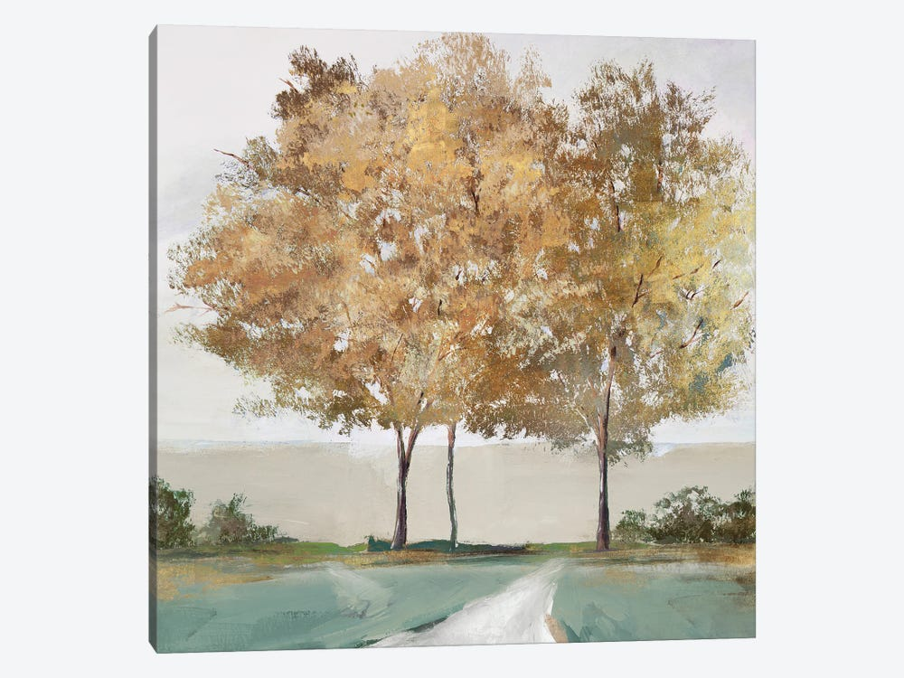 Golden Forest Shimmer by Isabelle Z 1-piece Canvas Print