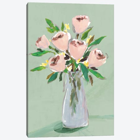 Hello Spring I Canvas Print #ZEE466} by Isabelle Z Canvas Art Print