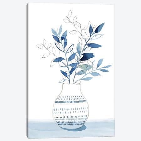 Indigo Bouquet I Canvas Print #ZEE469} by Isabelle Z Canvas Artwork