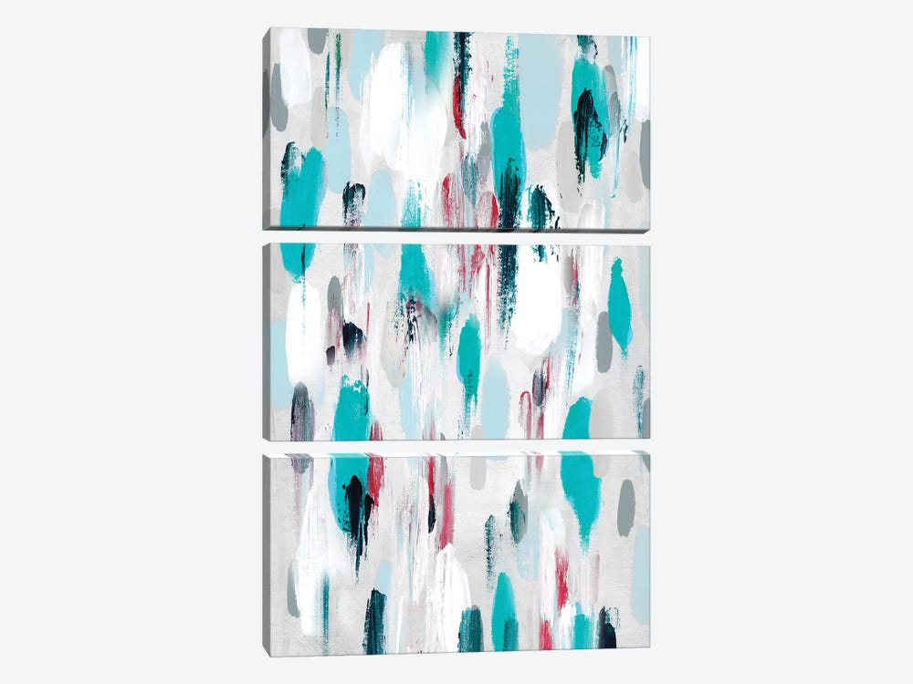 Gouttes I by Isabelle Z 3-piece Canvas Artwork