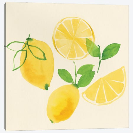 Juicy Fruits I Canvas Print #ZEE471} by Isabelle Z Art Print
