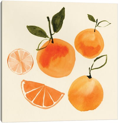 Juicy Fruits II Canvas Art Print