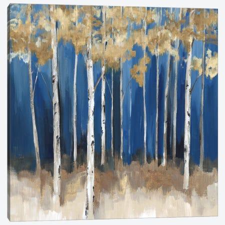 Midnight Indigo Canvas Print #ZEE476} by Isabelle Z Canvas Art
