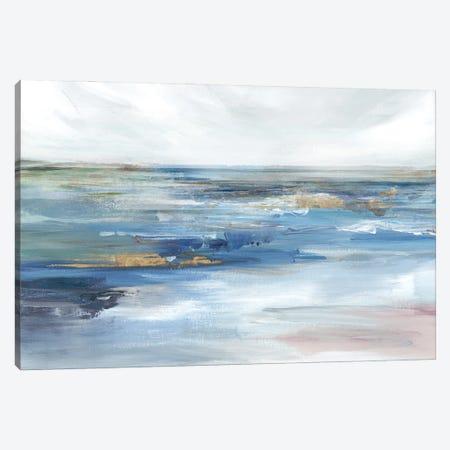 Ocean Kiss Canvas Print #ZEE477} by Isabelle Z Canvas Wall Art