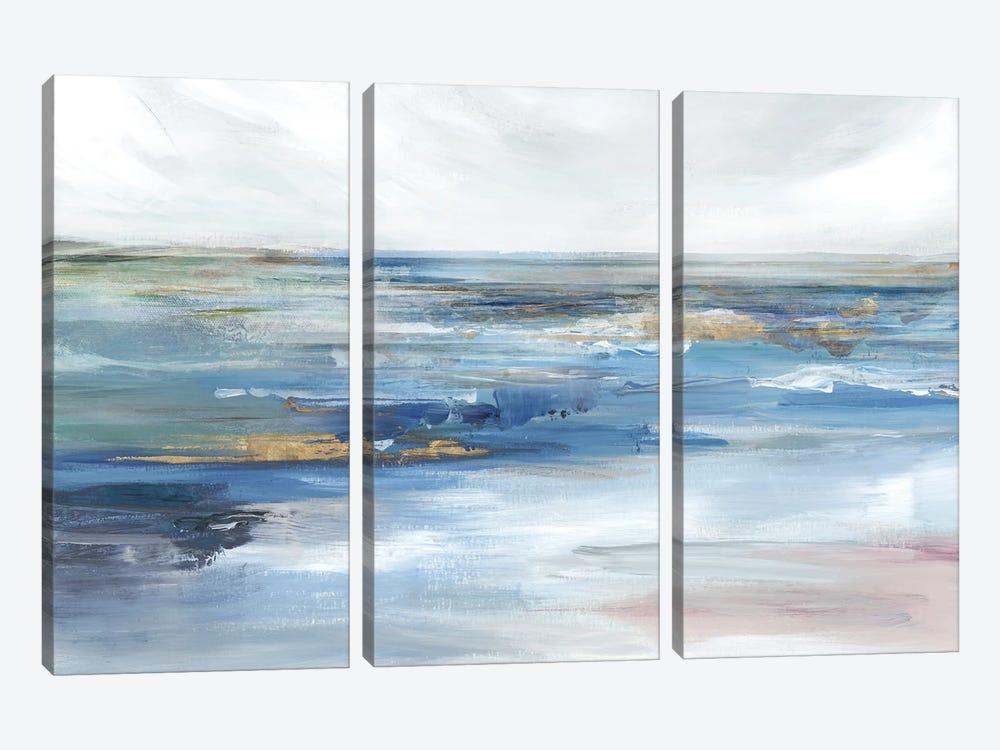 Ocean Kiss by Isabelle Z 3-piece Canvas Art Print