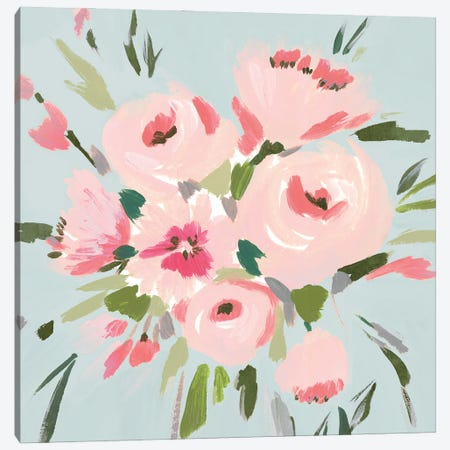 Pink Inspiration II Canvas Print #ZEE483} by Isabelle Z Canvas Artwork