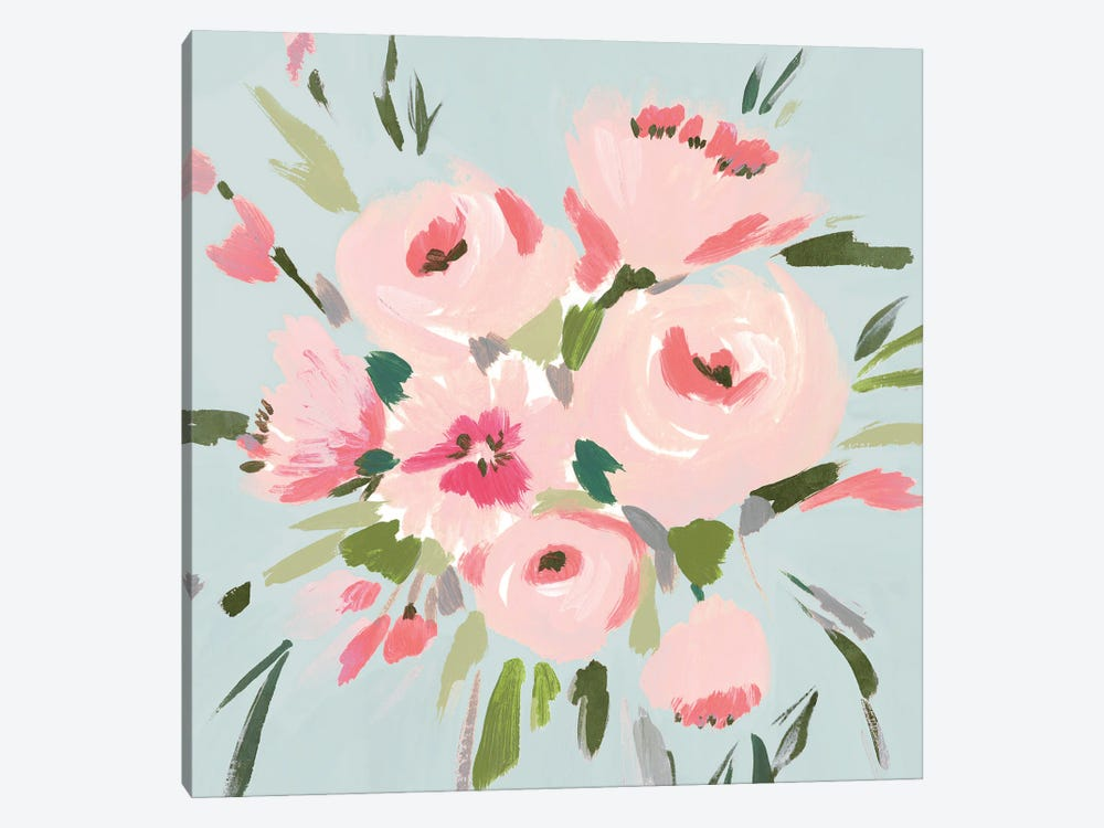 Pink Inspiration II 1-piece Canvas Wall Art