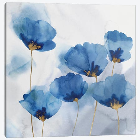 Pretty in Blue II Canvas Print #ZEE485} by Isabelle Z Art Print