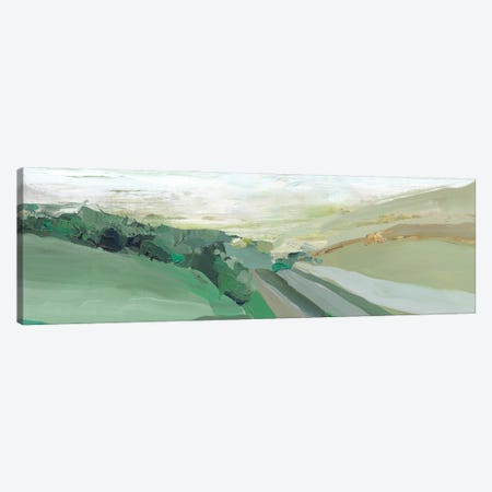 West Green Hills Canvas Print #ZEE495} by Isabelle Z Canvas Art