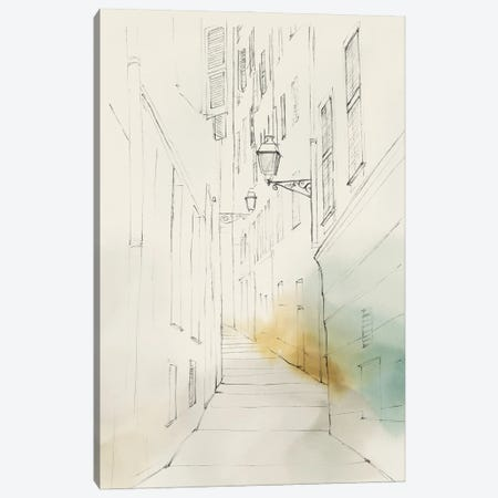 City Sketches III Canvas Print #ZEE503} by Isabelle Z Canvas Print