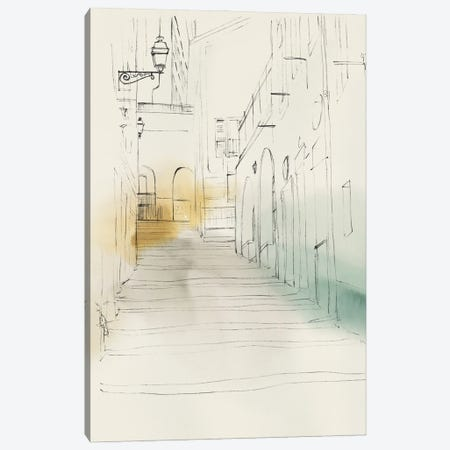 City Sketches IV Canvas Print #ZEE504} by Isabelle Z Canvas Wall Art