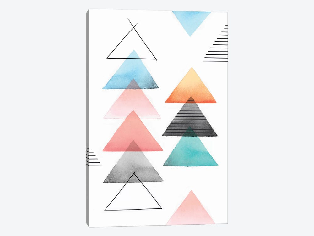 Group Of Triangles II by Isabelle Z 1-piece Art Print