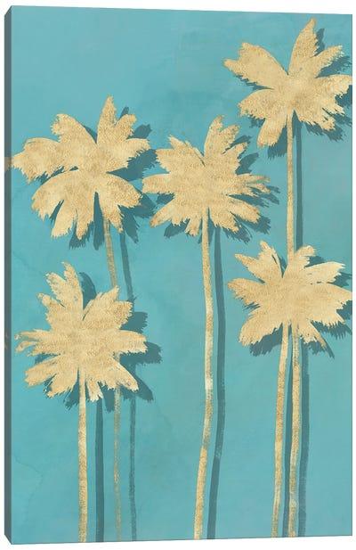 Golden Palm I Canvas Art Print