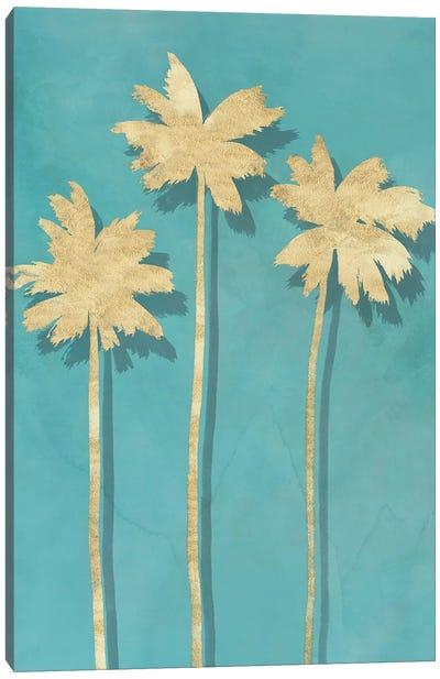 Golden Palm II Canvas Art Print