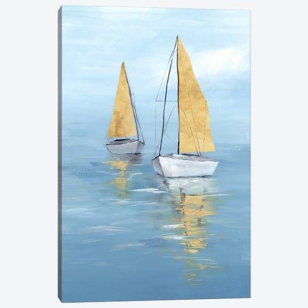 Golden Sail II Canvas Print #ZEE521} by Isabelle Z Art Print