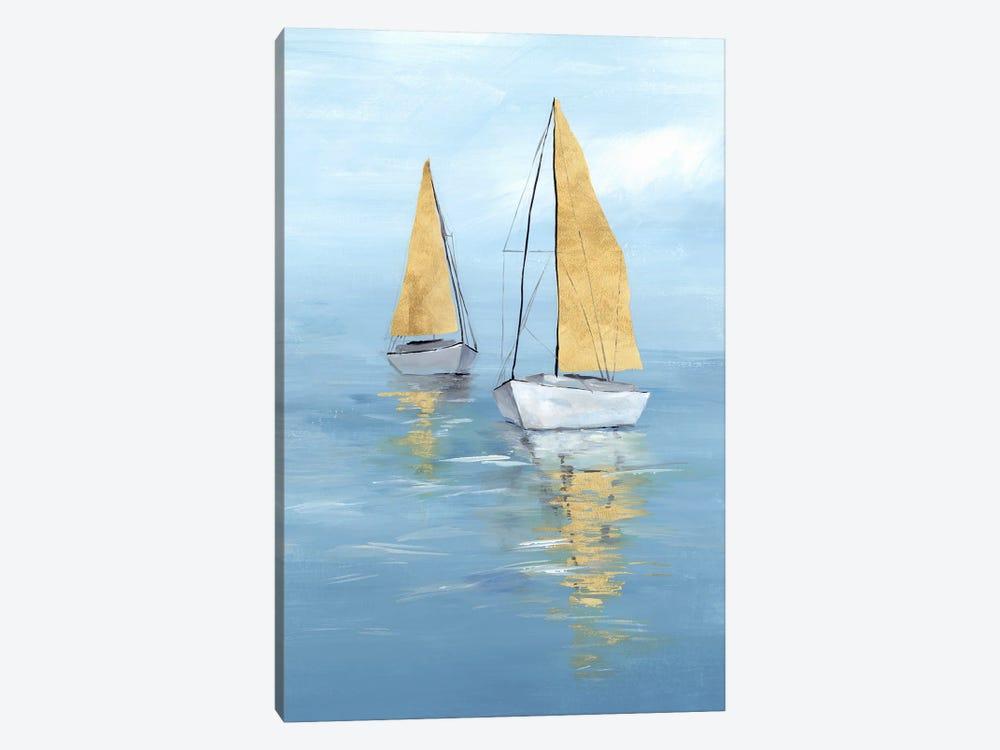 Golden Sail II by Isabelle Z 1-piece Art Print
