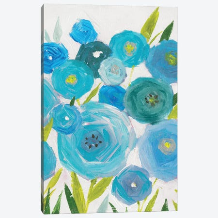 Life Of Flowers I Canvas Print #ZEE53} by Isabelle Z Canvas Artwork