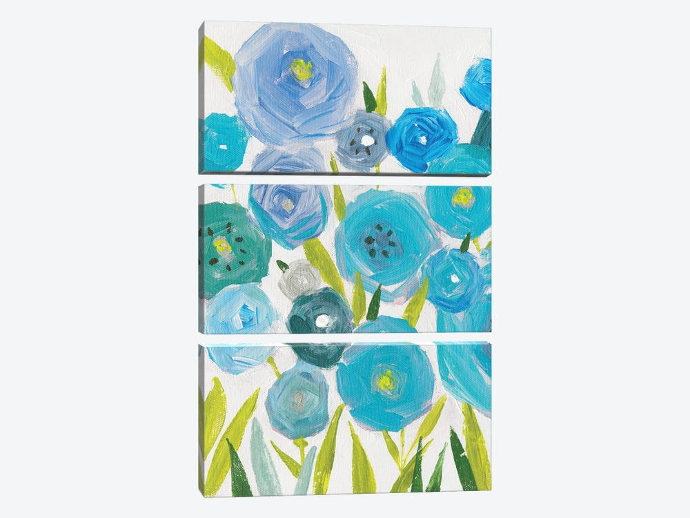 Life Of Flowers II by Isabelle Z 3-piece Canvas Print