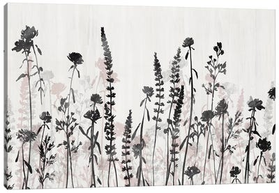 Wildflower Garden Canvas Art Print