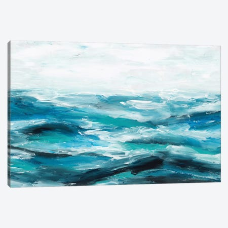 Oceanic I Canvas Print #ZEE57} by Isabelle Z Canvas Print