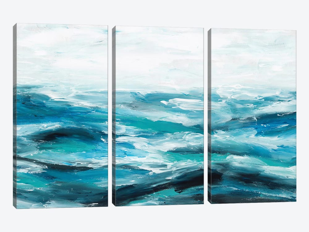 Oceanic I by Isabelle Z 3-piece Canvas Art