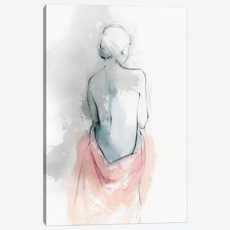 Pastel Woman I Canvas Print #ZEE59} by Isabelle Z Canvas Artwork