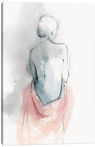 Pastel Woman I Canvas Art Print