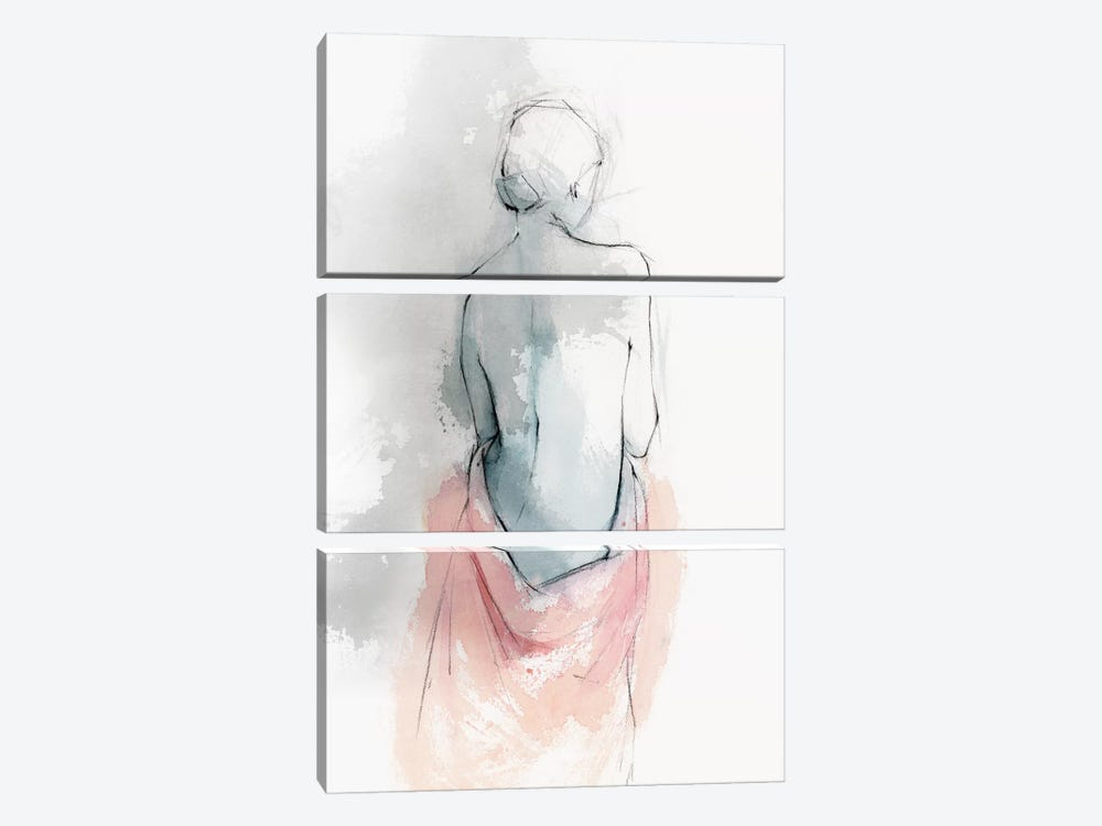 Pastel Woman I by Isabelle Z 3-piece Canvas Wall Art