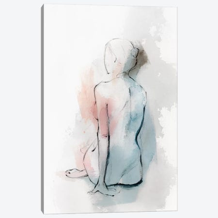Pastel Woman II Canvas Print #ZEE60} by Isabelle Z Canvas Art Print