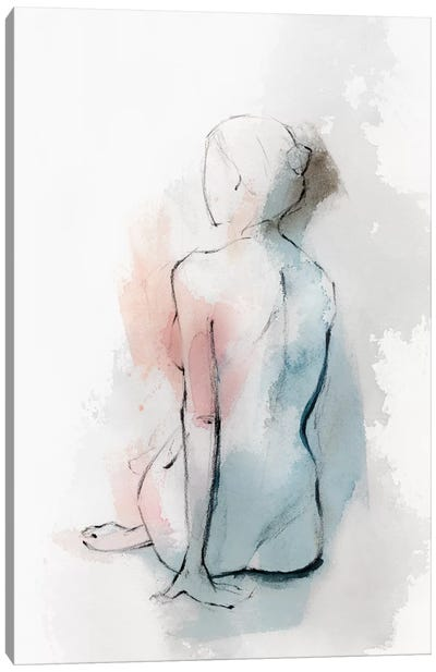 Pastel Woman II Canvas Art Print