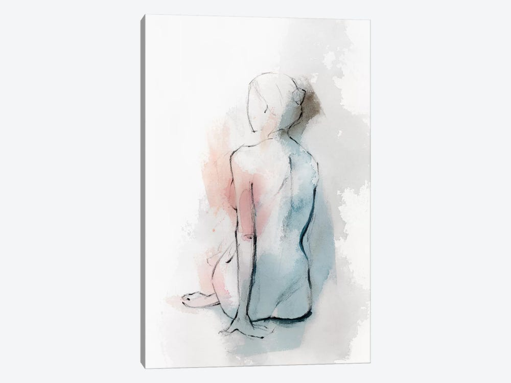 Pastel Woman II by Isabelle Z 1-piece Canvas Artwork