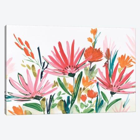Pink Petals Canvas Print #ZEE61} by Isabelle Z Canvas Art Print