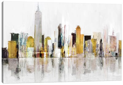 Towering Over Buildings III Canvas Art Print