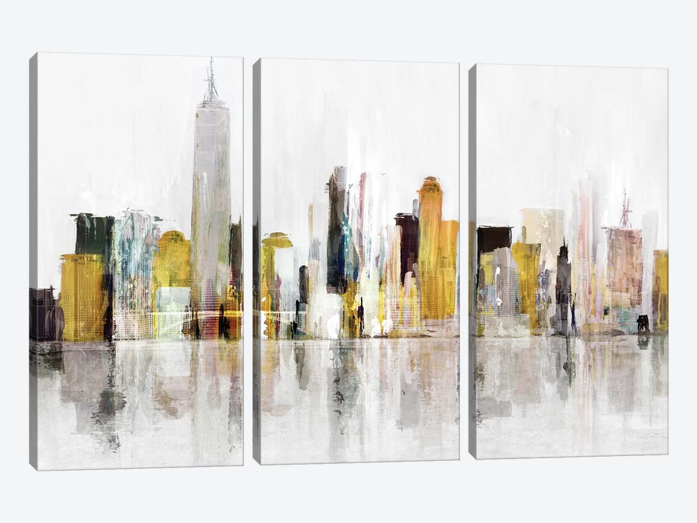 Towering Over Buildings III by Isabelle Z 3-piece Canvas Artwork