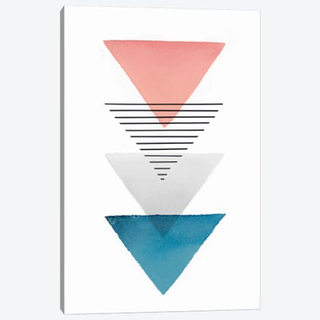 Triangular I Canvas Print #ZEE69} by Isabelle Z Canvas Art Print