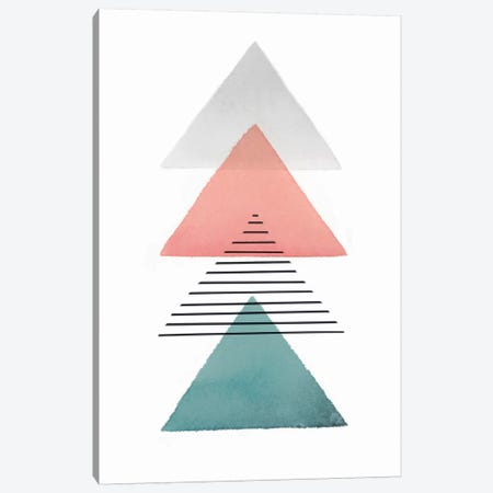 Triangular II Canvas Print #ZEE70} by Isabelle Z Canvas Wall Art