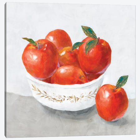 Apples  Canvas Print #ZEE79} by Isabelle Z Canvas Artwork