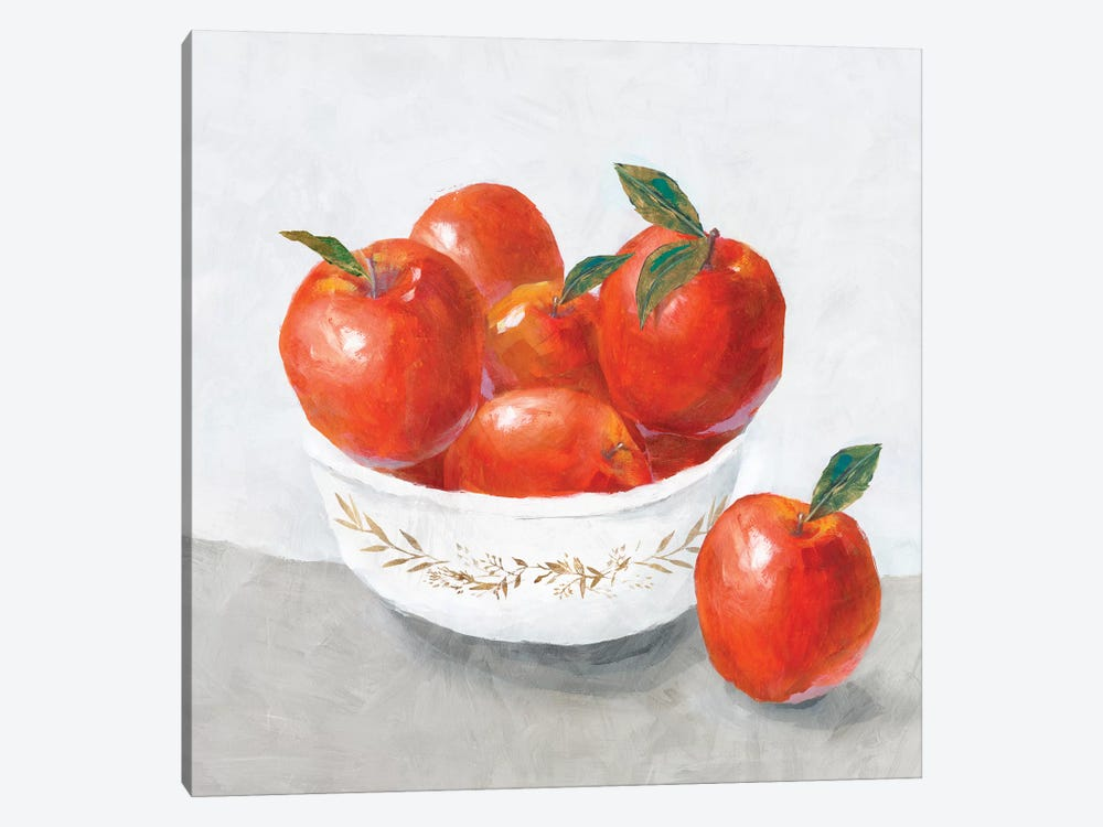 Apples  by Isabelle Z 1-piece Canvas Artwork