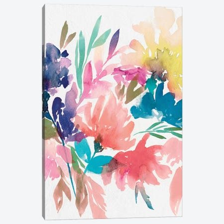 Fresh Bouquet I Canvas Print #ZEE7} by Isabelle Z Canvas Print