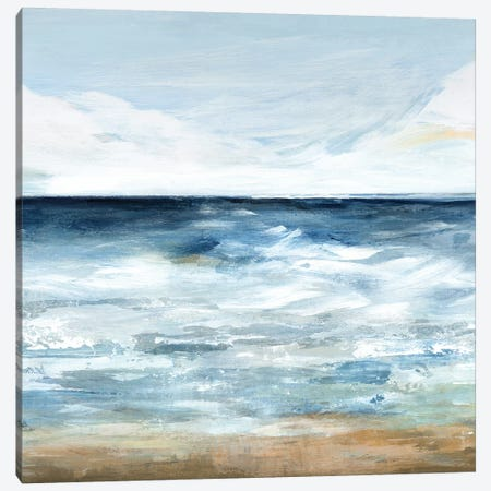 Blue Ocean I  Canvas Print #ZEE89} by Isabelle Z Canvas Art Print