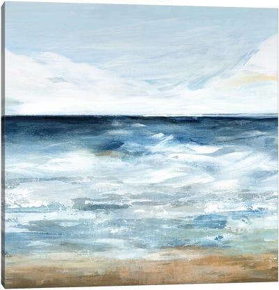 Blue Ocean I  Canvas Art Print