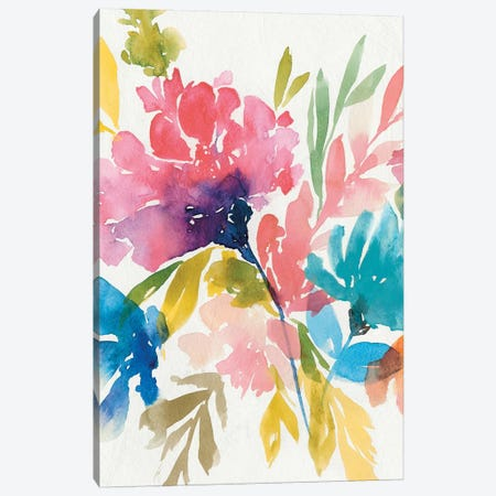 Fresh Bouquet II Canvas Print #ZEE8} by Isabelle Z Canvas Wall Art