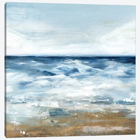 Blue Ocean II  Canvas Print #ZEE90} by Isabelle Z Canvas Art