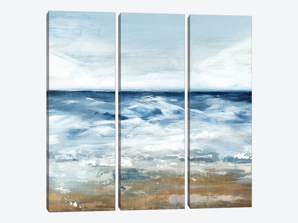 Blue Ocean II  by Isabelle Z 3-piece Canvas Print