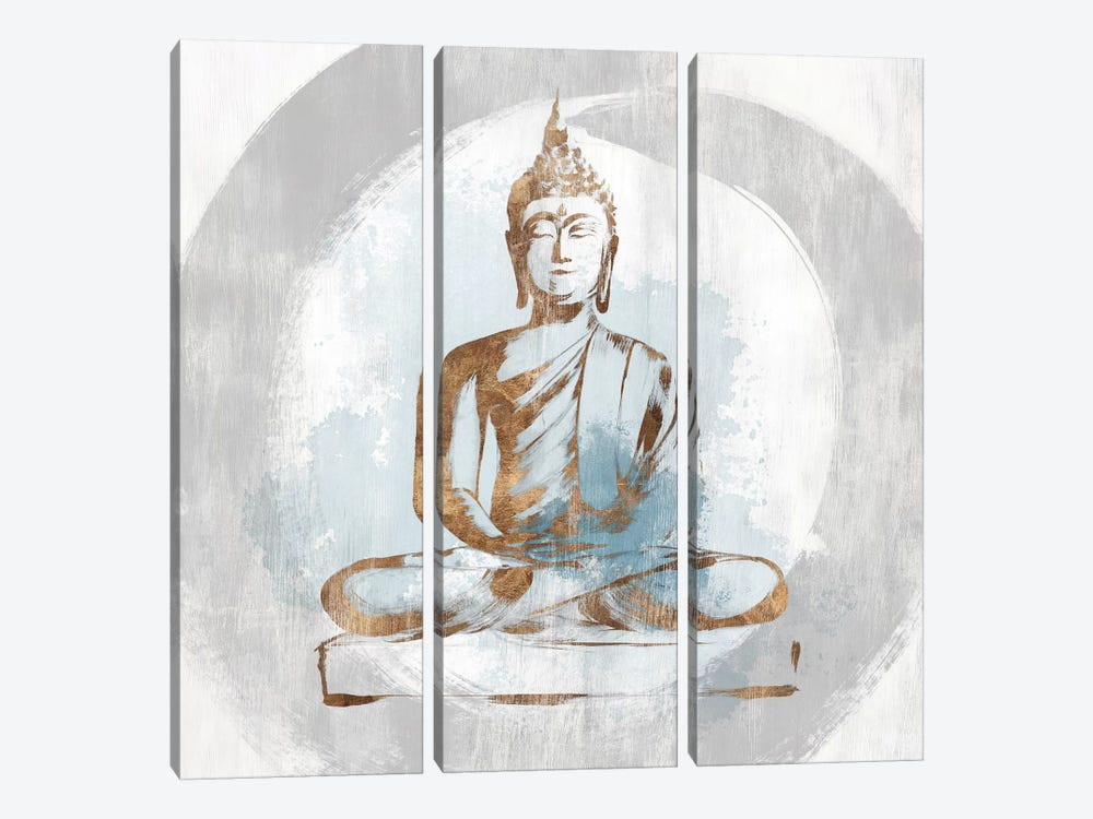 Buddhist I by Isabelle Z 3-piece Canvas Wall Art