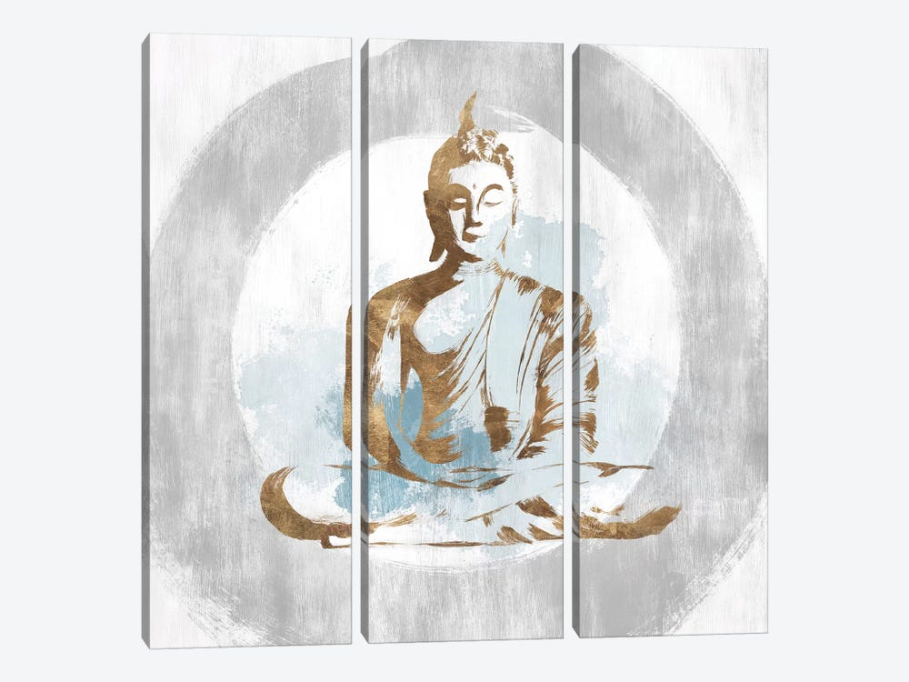 Buddhist II by Isabelle Z 3-piece Canvas Print