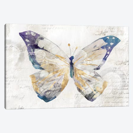 Butterfly Effect I  Canvas Print #ZEE99} by Isabelle Z Canvas Artwork